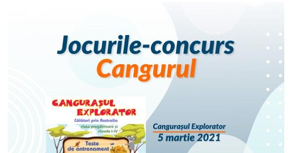 Calendar Cangurul 2021. Concursul se desfasoara online, in perioada martie - mai