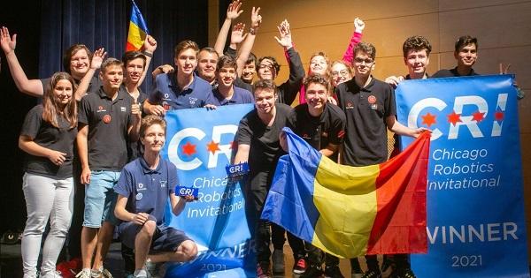 Echipa Romaniei a obtinut locul 1 la Campionatul International de Robotica 2021