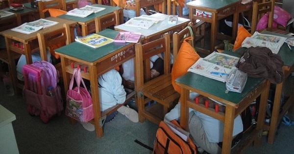 Ce facem in caz de cutremur la scoala? Ghid pentru elevi si profesori