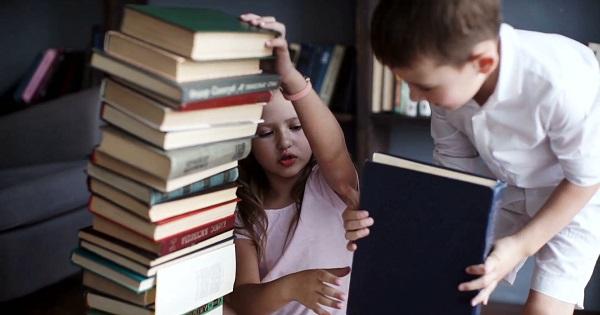 Ce se poate intampla cu copiii care cresc inconjurati de carti