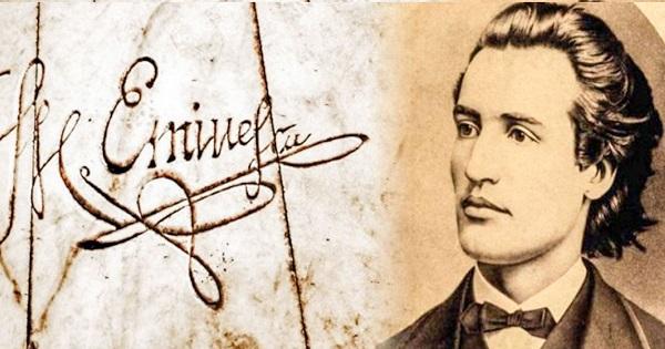 15 ianuarie - Ziua lui Mihai Eminescu si a Culturii. Poezia scrisa inainte de moartea sa