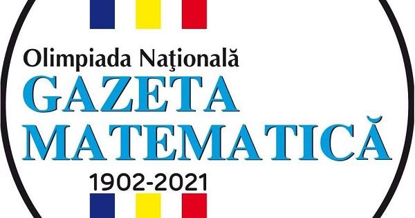 Programa pentru Olimpiada Nationala Gazeta Matematica - etapa I