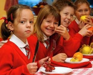 Campanie pentru alimentatie sanatoasa in scoli