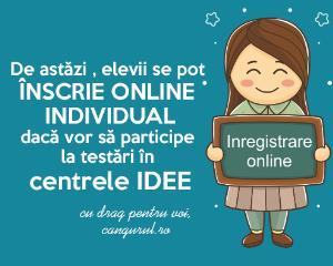 Aplicatie online pentru inscrieri individuale la Proiectele Educationale Cangurul