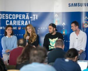 Caravana Samsung Trends of Tomorrow face turul liceelor din tara: elevii sunt ajutati sa isi descopere vocatia