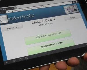 Catalogul electronic imbunatateste situatia scolara a elevilor