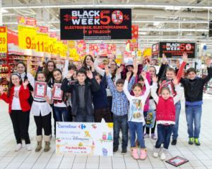 Peste 300.000 de elevi, din 600 de scoli din 17 orase, au participat la cea de-a XXVII-a editie a concursului de desene organizat de Carrefour