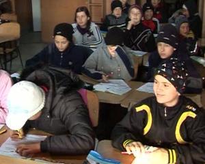 Frigul din clase a dus la scurtarea orelor in mai multe scoli