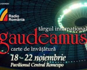 Targul GAUDEAMUS are loc intre 18 si 22 noiembrie, la Romexpo