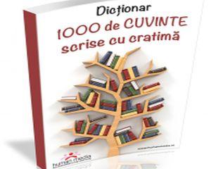 1000 de cuvinte scrise cu cratima. Copilul tau le stie pe toate?