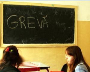 Incepe greva profesorilor in plin Bacalaureat - luni intra in greva 3.000 de profesori din Cluj