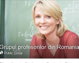 Va invitam in Grupul profesorilor din Romania