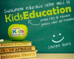 O noua editie Kids Education, in acest weekend, la Palatul Copiilor