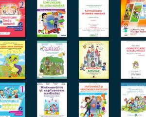 Cum arata noile manuale digitale pentru clasele I si a II-a