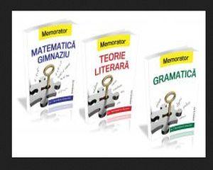 Colectia MEMORATOARE pentru Gimnaziu