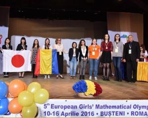 Olimpiada Europeana de Matematica pentru Fete: 8 medalii pentru Romania