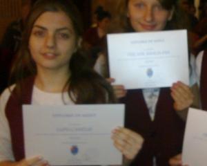Elevii din Timisoara, premiati pentru rezultatele la invatamant