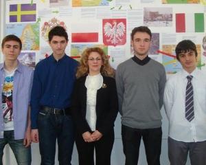 Proiect scolar european dezbatut la Bacau de elevi si profesori din 5 tari