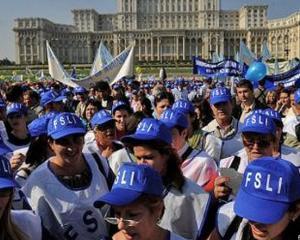 """Profesorii ies in strada pe 18 si 19 aprilie si cer salarii mai mari: """"Guvernul sa-si dea demisia de onoare!"""""""