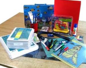 Rechizitele gratuite ajung in scolile din Constanta la sfarsit de octombrie