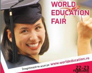 World Education Fair, targul educational pentru elevii care doresc sa studieze in strainatate