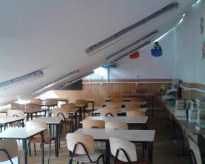 Tavanul unei scoli care functiona ilegal s-a prabusit