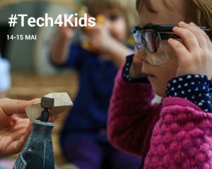 Incepe Tech4Kids, prima expozitie interactiva de tehnologie pentru prescolari!