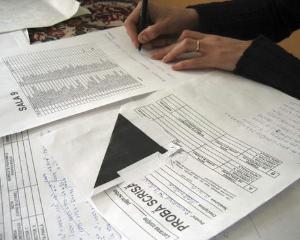 Materiile la care elevii de la liceu vor sustine teze in anul scolar 2013 - 2014
