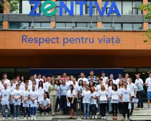 20 de liceeni participa la a 5-a editie Zentiva Express, program de dezvoltare profesionala concretizat prin burse de studiu si oportunitati de cariera