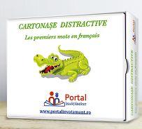 Cartonase distractive: Primele mele cuvinte in limba franceza