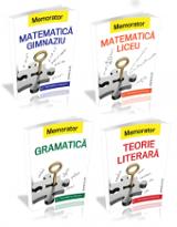 Memoratoare gramatica si teorie literara